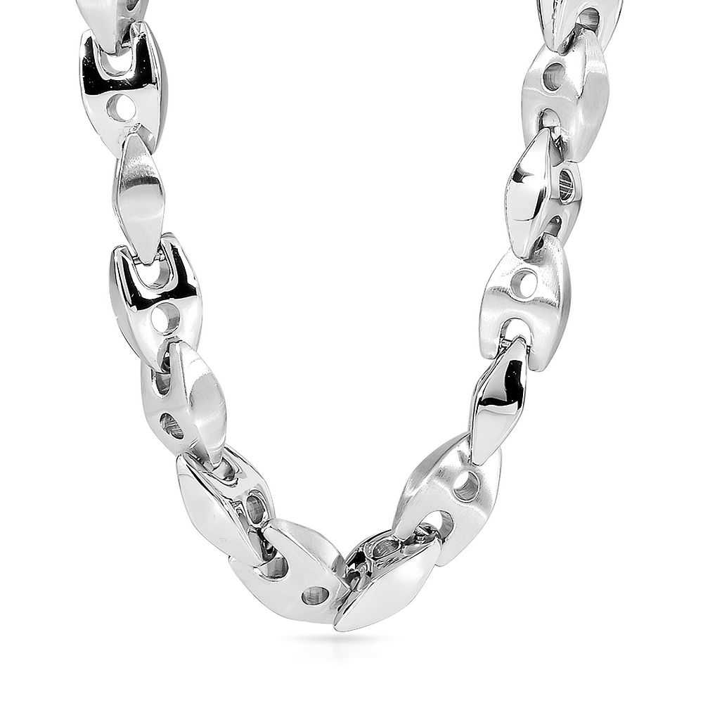 Men's Mariner Link Chain in Stainless Steel