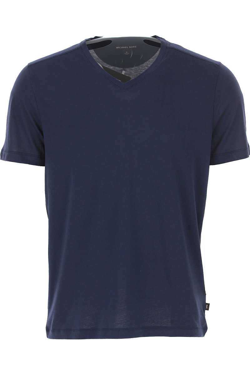 Michael Kors T-Shirt for Men On Sale in Outlet Midnight Bue - GOOFASH