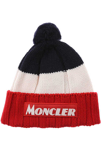 Moncler Kids Hats for Boys Red UK - GOOFASH - Mens HATS