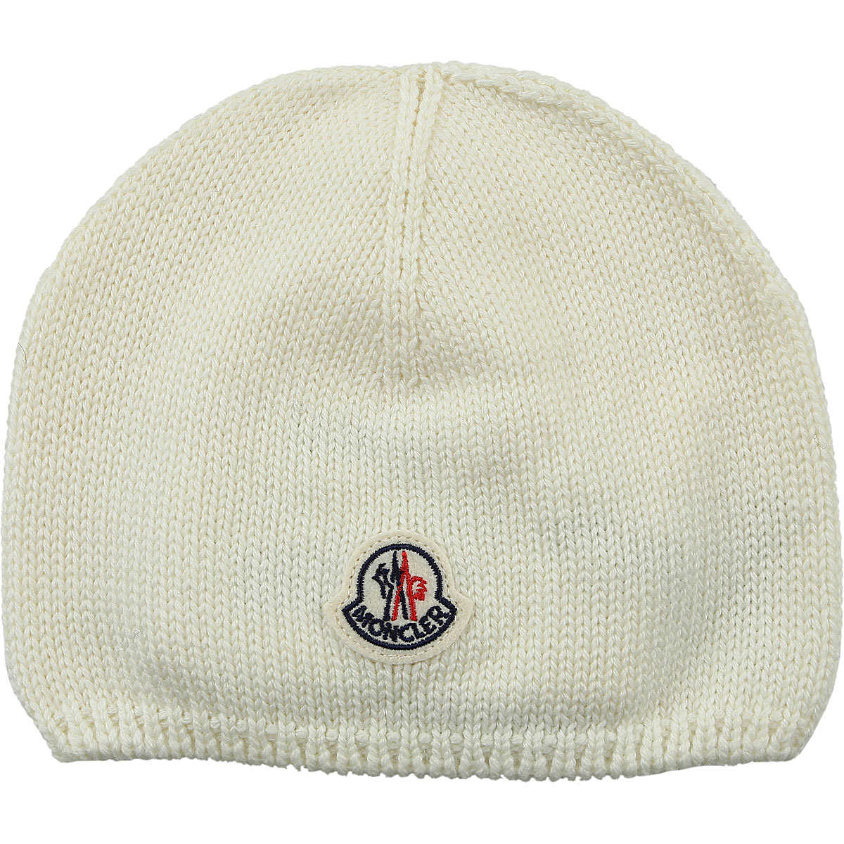 Moncler Kids Hats for Girls On Sale in Outlet Cream - GOOFASH - Womens HATS