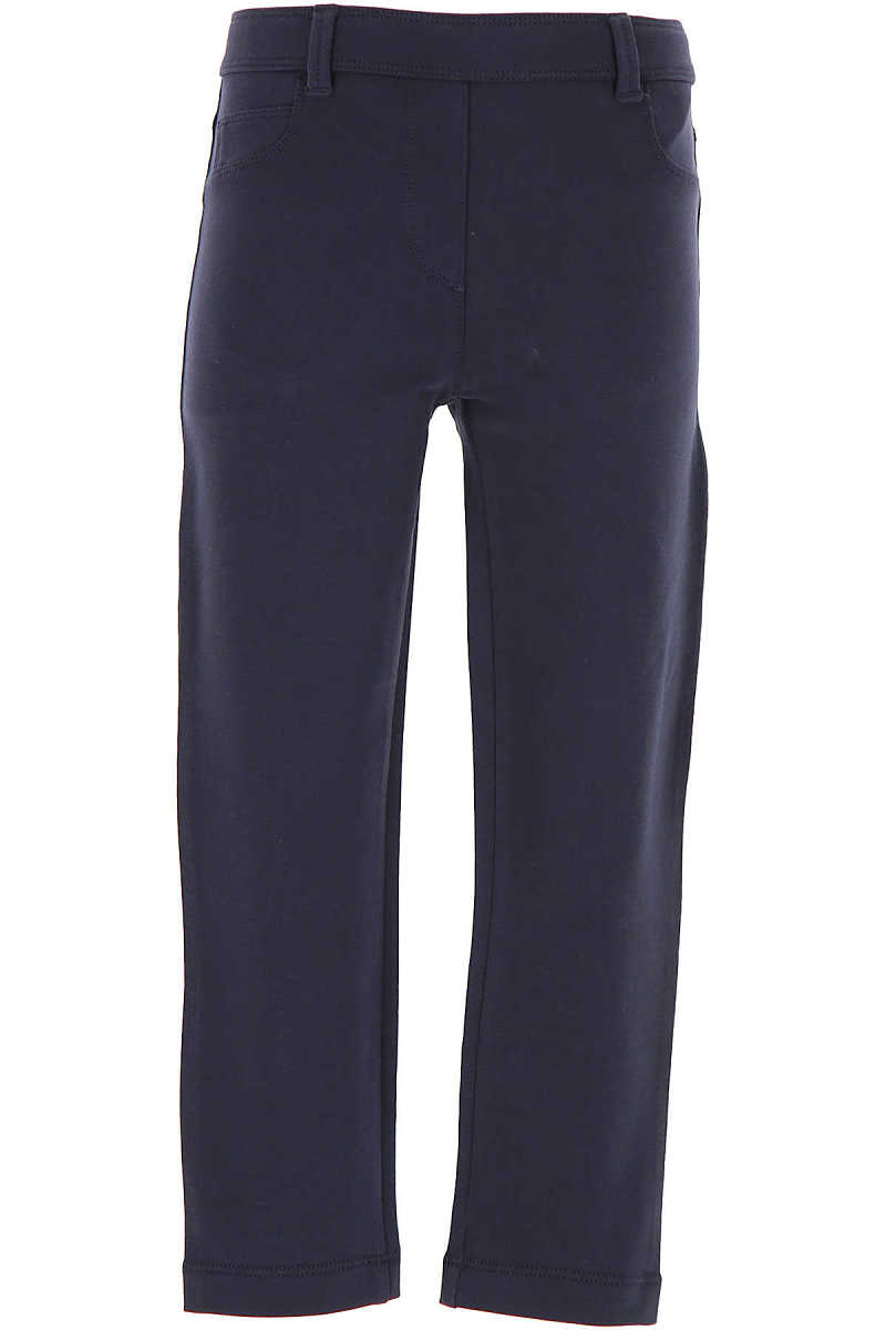 Moncler Kids Pants for Girls On Sale in Outlet Blue UK - GOOFASH - Womens TROUSERS