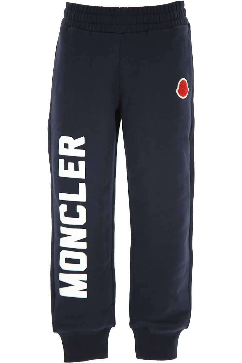 Moncler Kids Sweatpants for Girls navy - GOOFASH - Womens TROUSERS