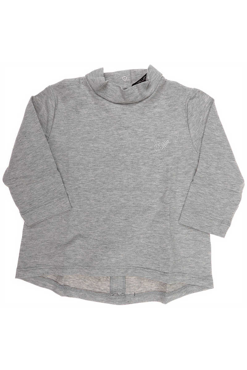 Monnalisa Baby T-Shirt for Girls On Sale in Outlet Grey UK - GOOFASH - Womens T-SHIRTS