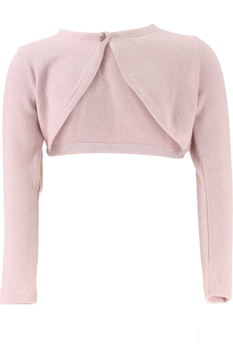 Monnalisa Kids Sweaters for Girls On Sale in Outlet Pink UK - GOOFASH - Womens SWEATERS