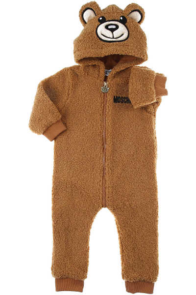 Moschino Baby Bodysuits & Onesies for Boys Camel UK - GOOFASH - Mens SUITS