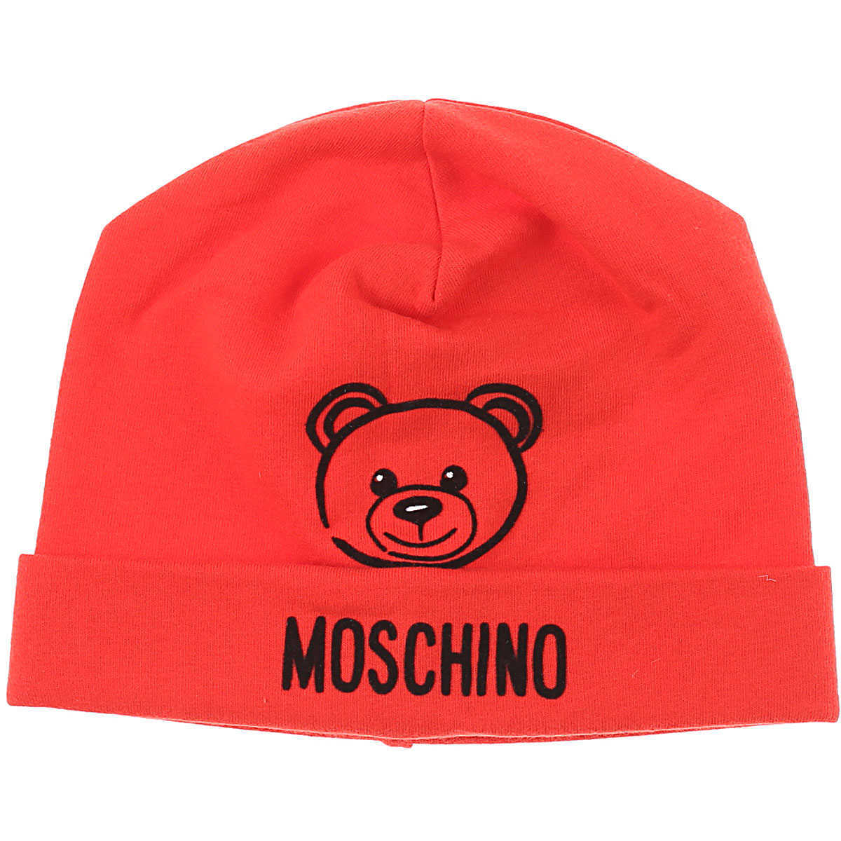 Moschino Baby Hats for Boys Red UK - GOOFASH - Mens HATS