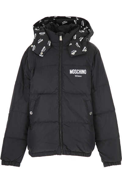Moschino Boys Down Jacket for Kids Puffer Ski Jacket - GOOFASH - Mens JACKETS