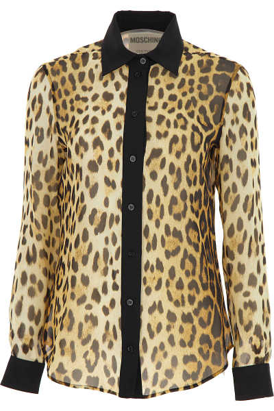 Moschino Shirt for Women On Sale Leopard UK - GOOFASH