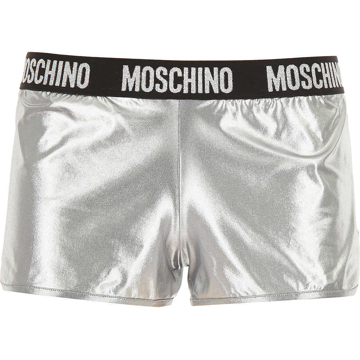 Moschino Shorts for Women On Sale Silver UK - GOOFASH