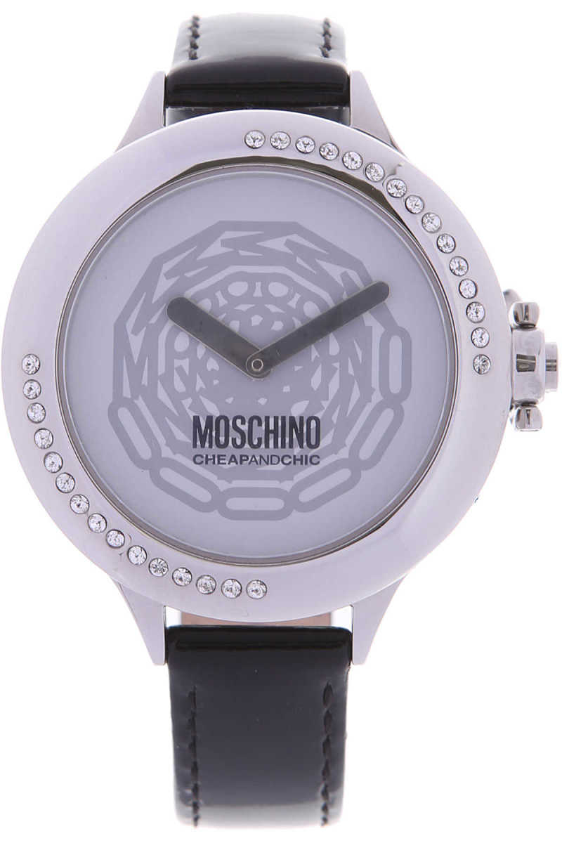 Moschino Watch for Women On Sale in Outlet Black - GOOFASH