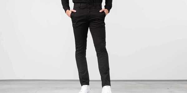 Norse Projects Aros Slim Light Stretch Pants Black HU - GOOFASH - Mens TROUSERS