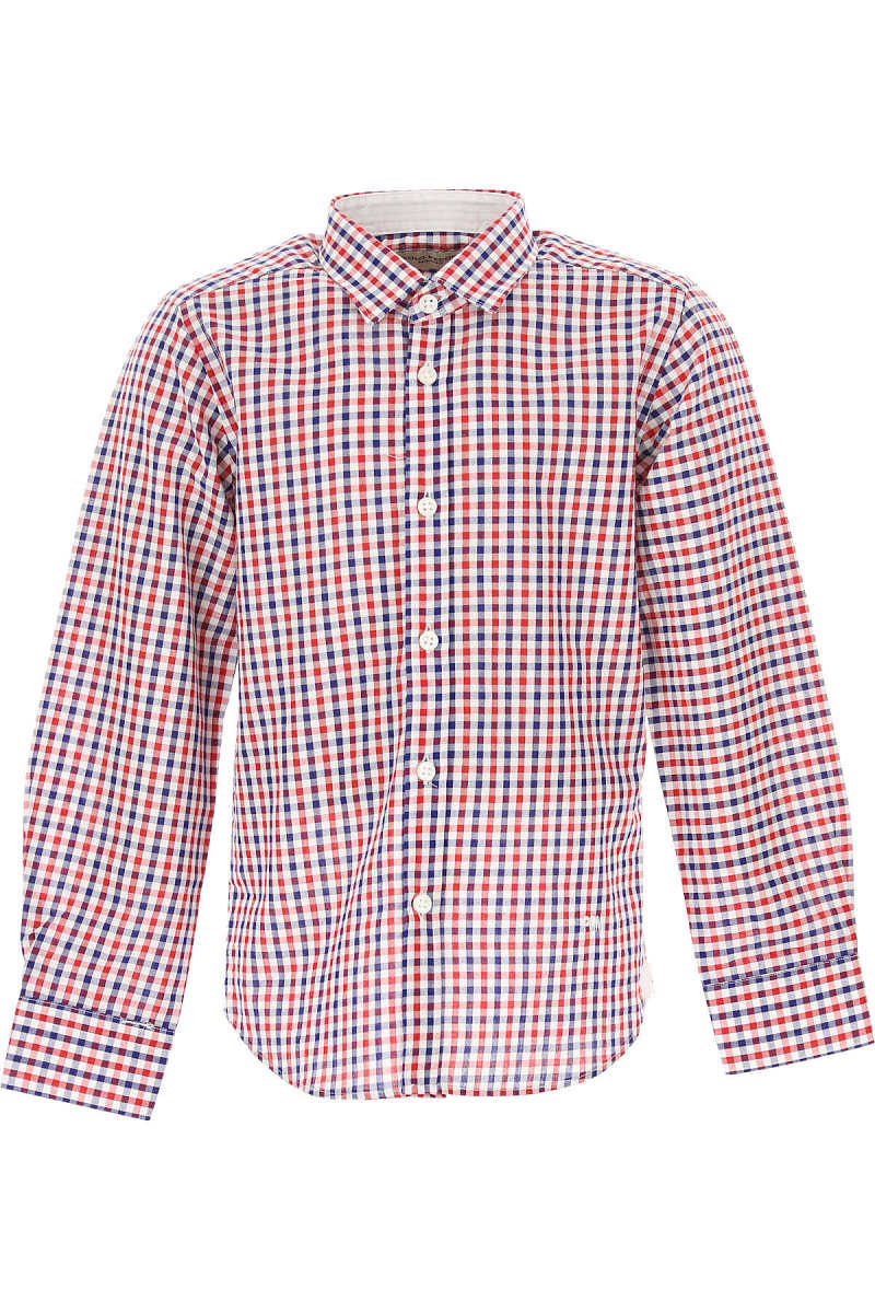 Paolo Pecora Kids Shirts for Boys On Sale White UK - GOOFASH - Mens SHIRTS