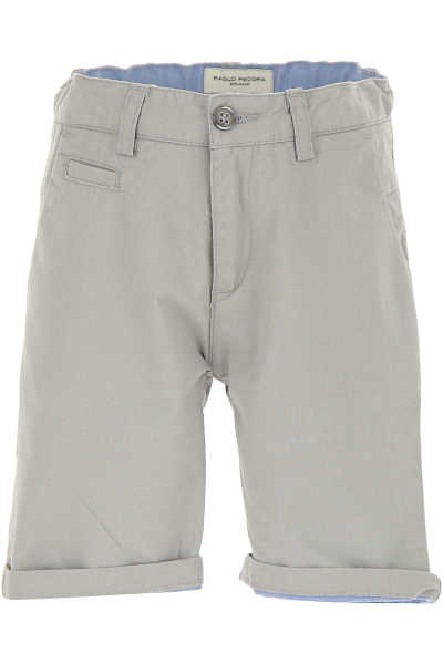 Paolo Pecora Kids Shorts for Boys On Sale in Outlet Beige - GOOFASH - Mens SHORTS