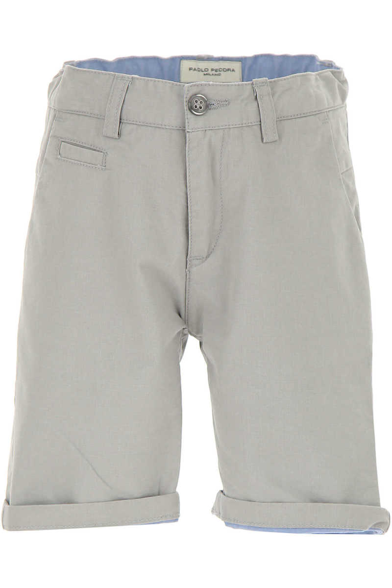 Paolo Pecora Kids Shorts for Boys On Sale in Outlet Beige UK - GOOFASH - Mens SHORTS