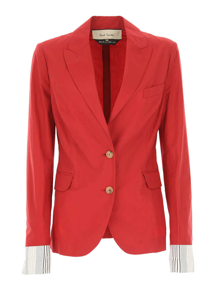 Paul Smith Blazer for Women On Sale in Outlet Red UK - GOOFASH