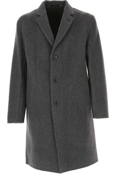 Paul Smith Men's Coat Grey UK - GOOFASH - Mens COATS