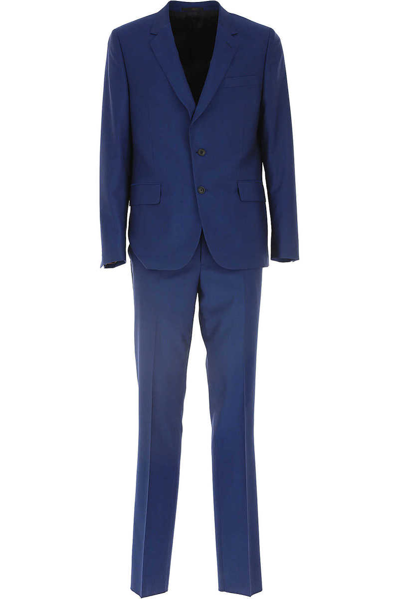 Paul Smith Men's Suit On Sale Blue - GOOFASH