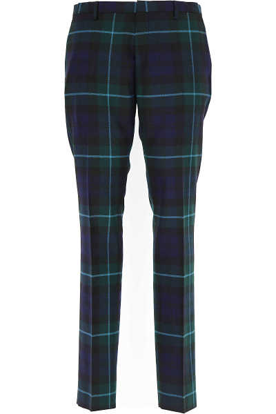 Paul Smith Pants for Men On Sale Green UK - GOOFASH - Mens TROUSERS