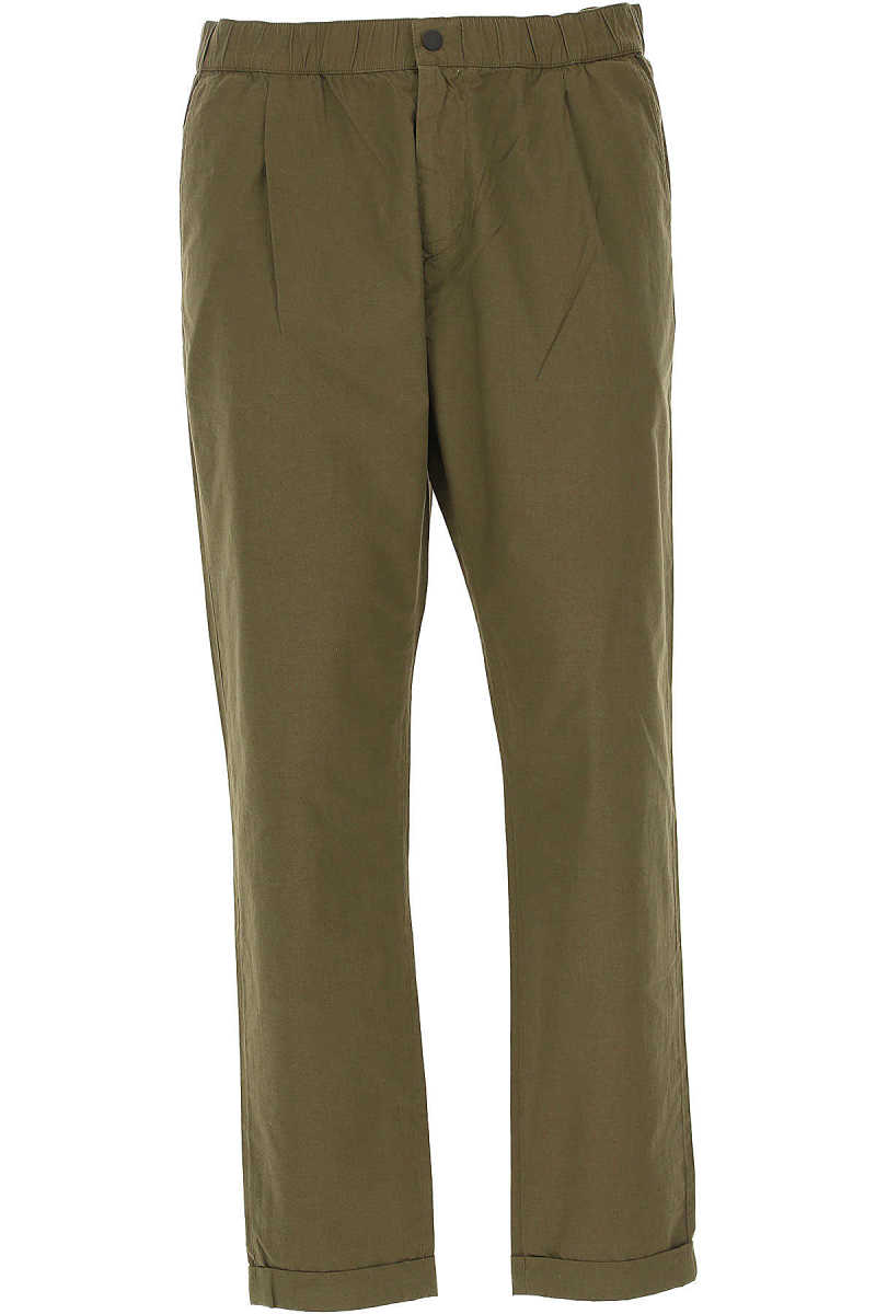 Paul Smith Pants for Men On Sale Military UK - GOOFASH - Mens TROUSERS
