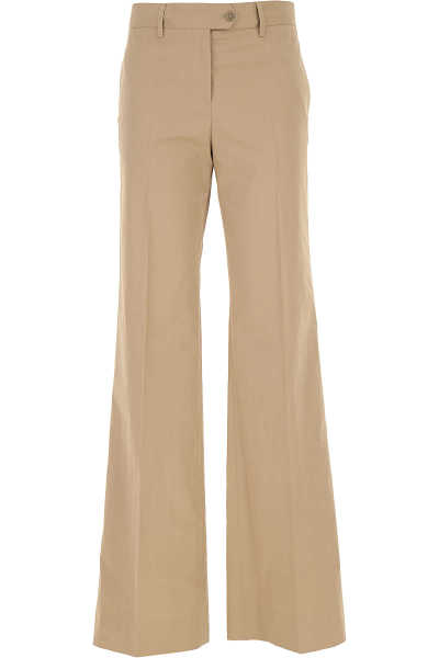 Paul Smith Pants for Women On Sale Beige UK - GOOFASH