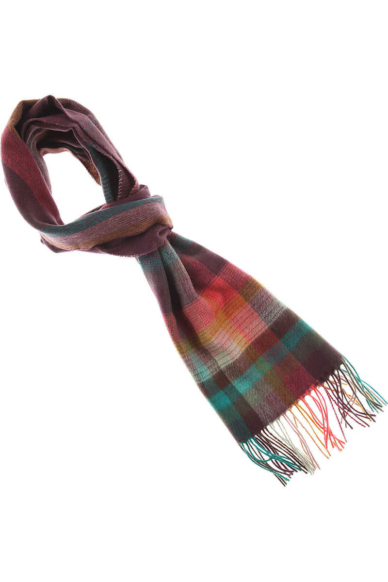 Paul Smith Scarf for Men On Sale Multicolor - GOOFASH