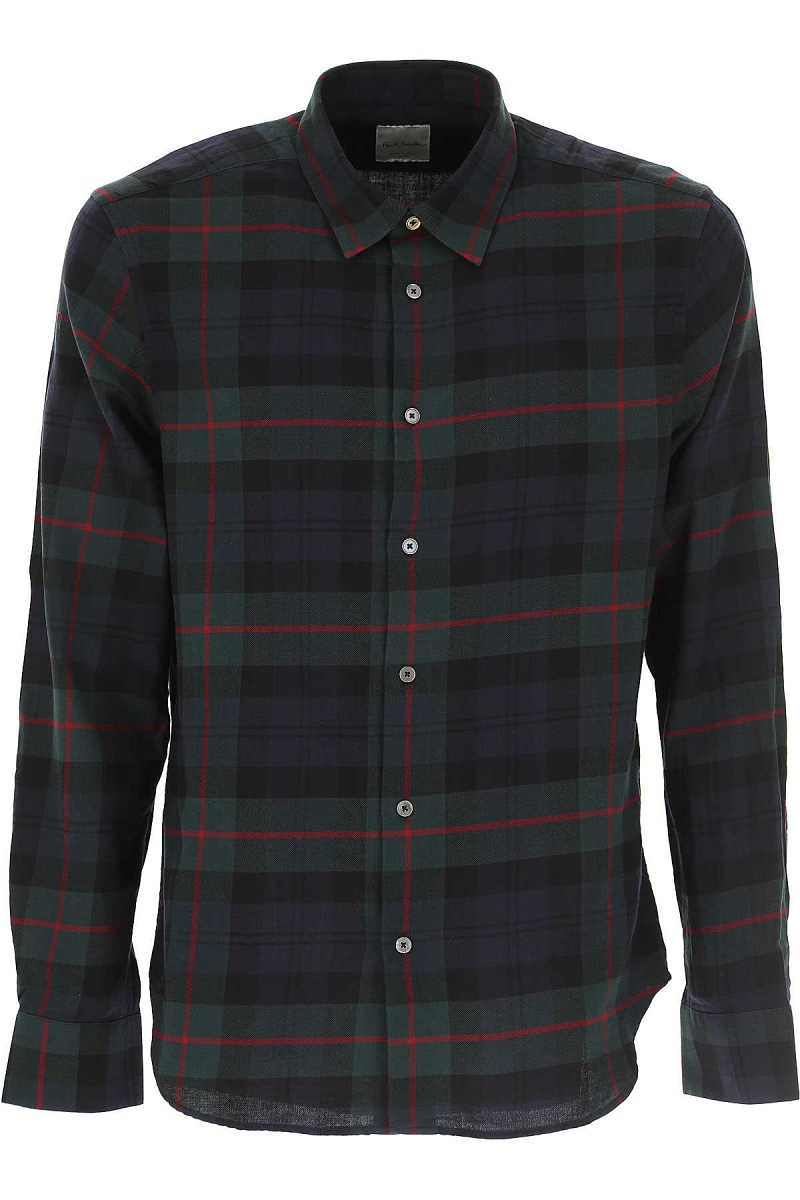 Paul Smith Shirt for Men On Sale in Outlet Black - GOOFASH