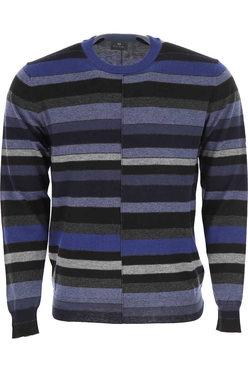 Paul Smith Sweater for Men Jumper On Sale in Outlet navy - GOOFASH