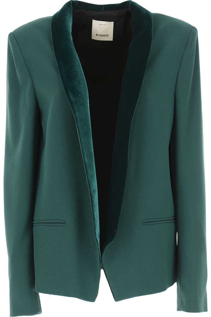 Pinko Blazer for Women On Sale in Outlet Green - GOOFASH