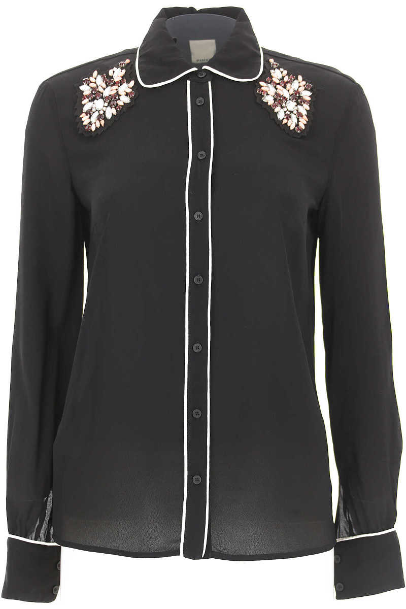 Pinko Shirt for Women On Sale in Outlet Black - GOOFASH