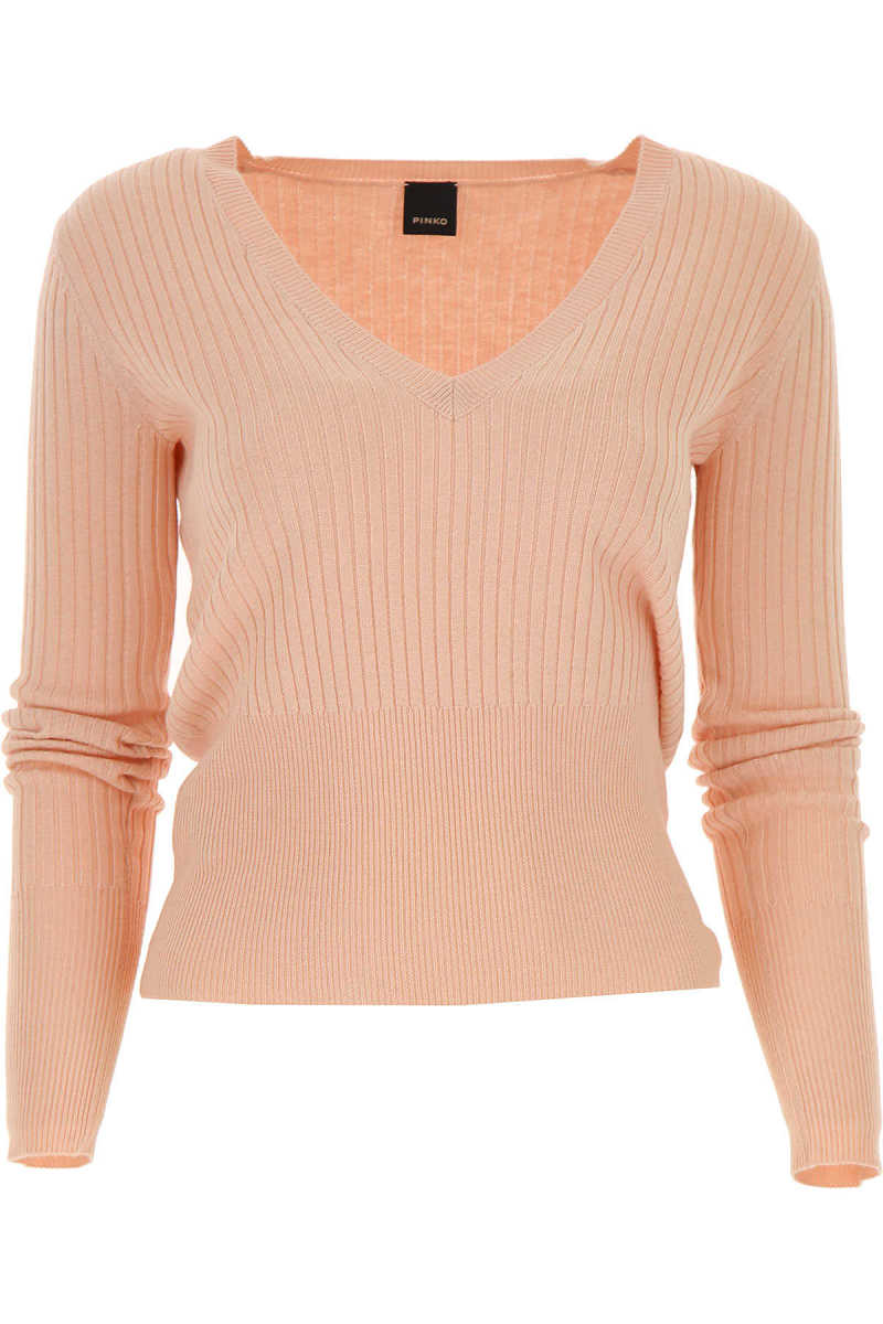 Pinko Sweater for Women Jumper On Sale in Outlet Pink - GOOFASH
