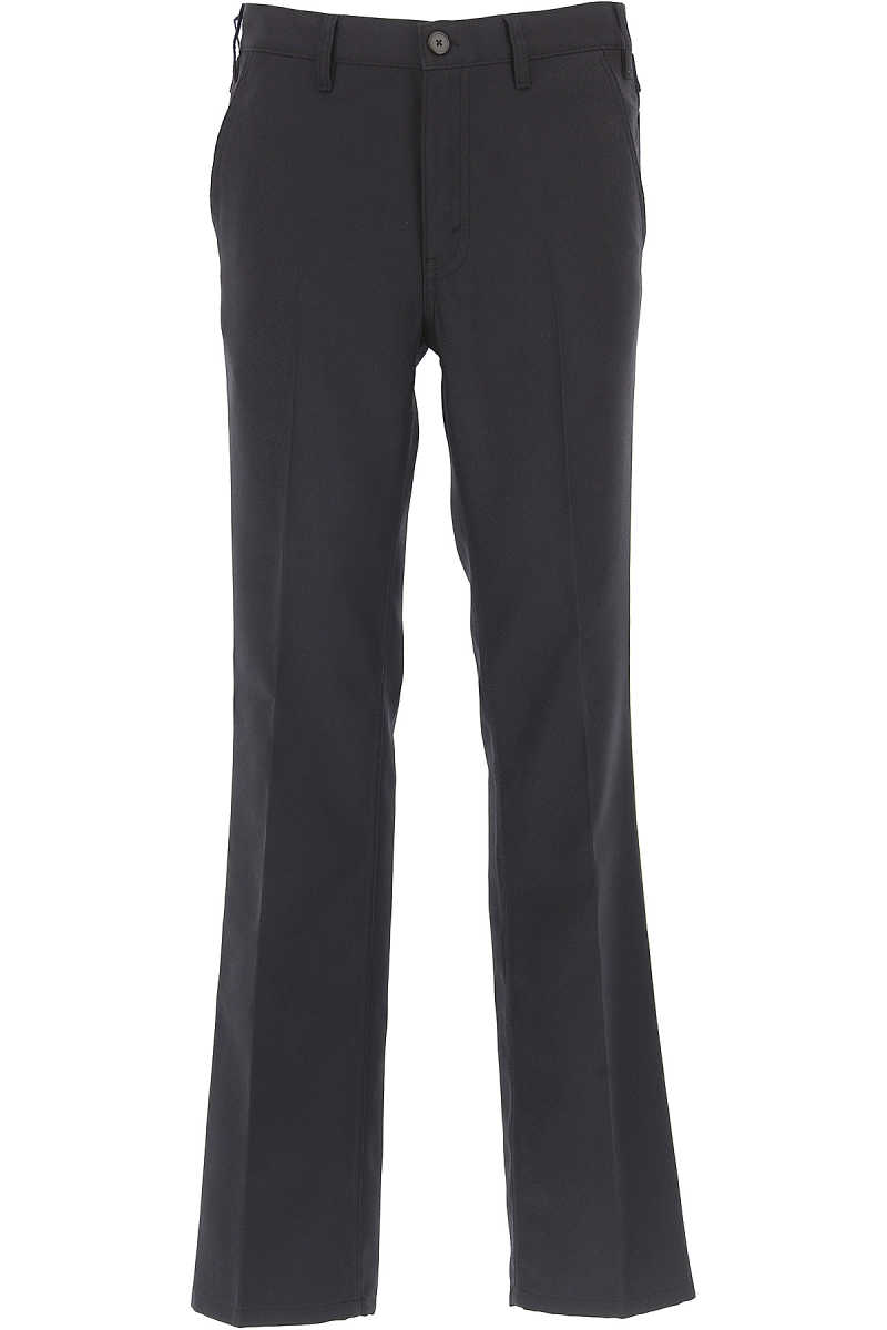 Prada Pants for Men On Sale in Outlet Blue Navy UK - GOOFASH - Mens TROUSERS