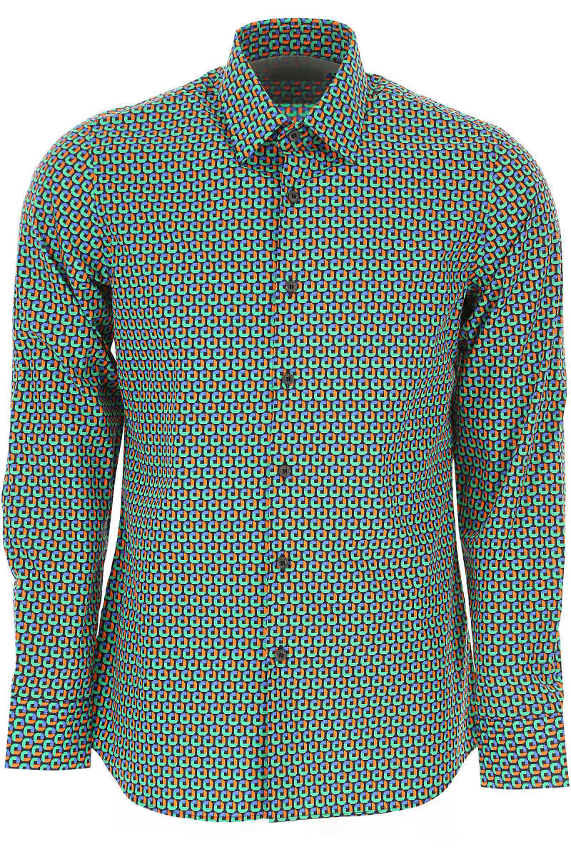 Prada Shirt for Men On Sale Black - GOOFASH