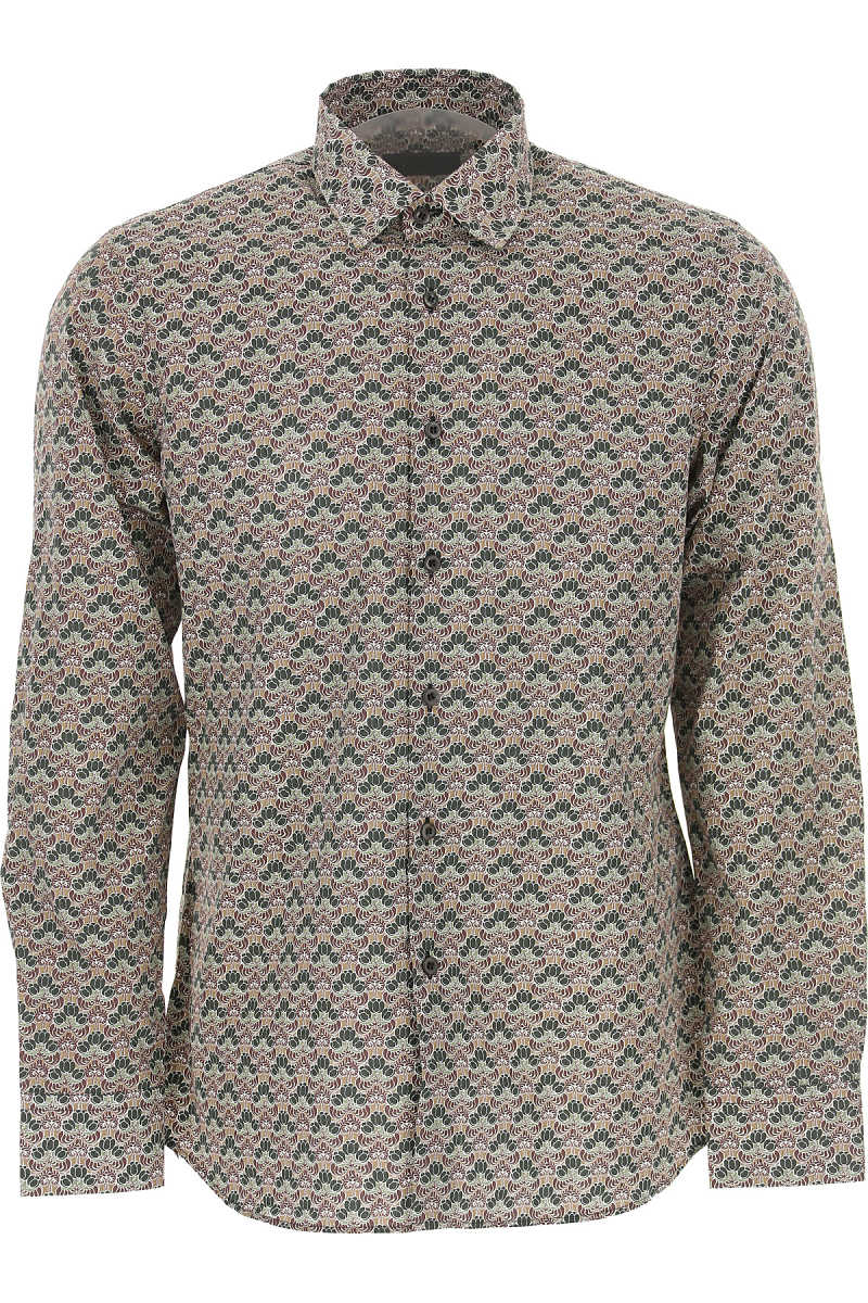 Prada Shirt for Men On Sale in Outlet Military Green UK - GOOFASH - Mens SHIRTS