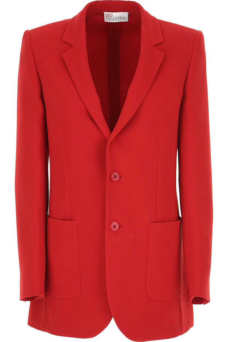 RED Valentino Blazer for Women Red UK - GOOFASH - Womens BLAZER
