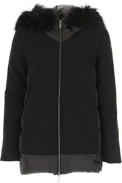 RRD Women's Coat Black UK - GOOFASH - Womens COATS
