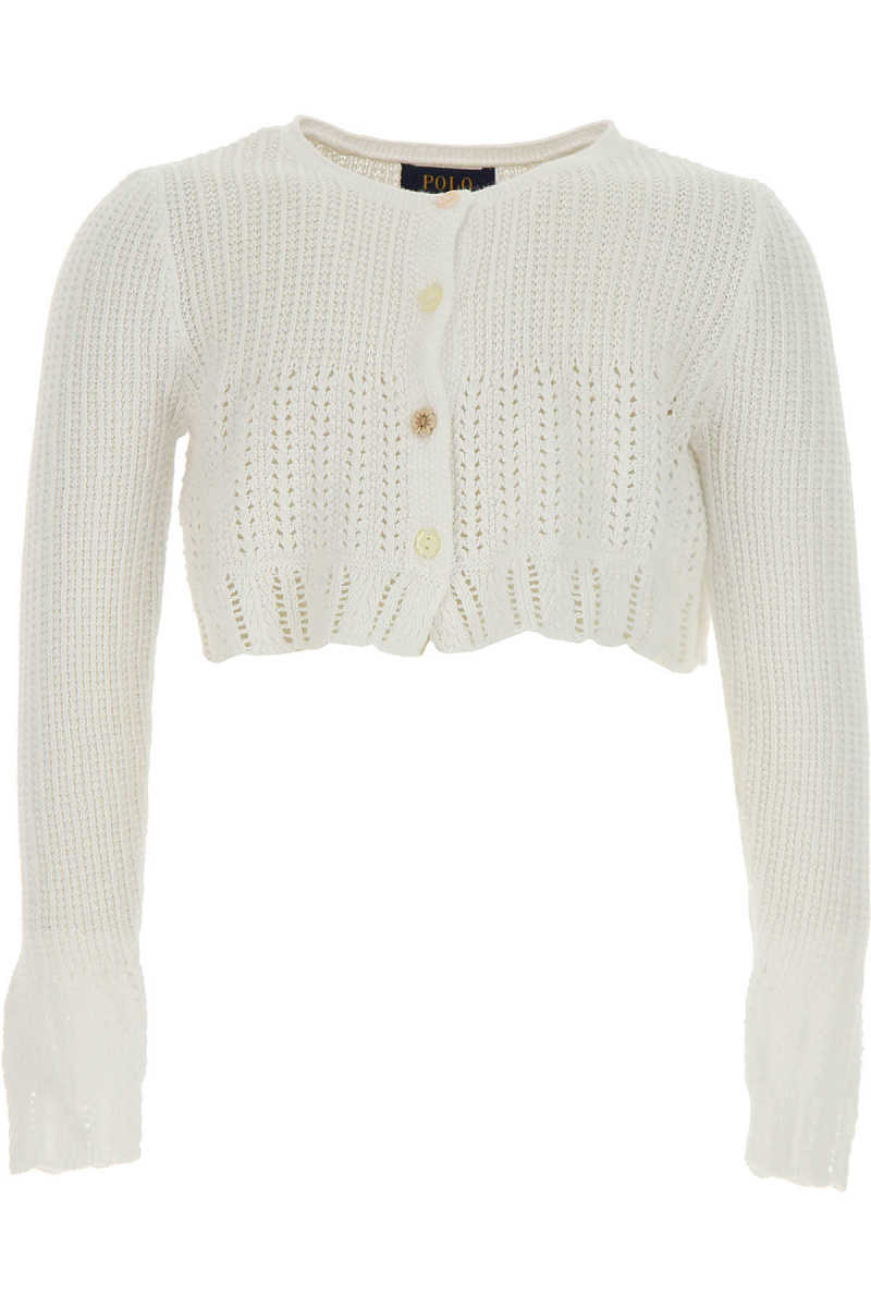 Ralph Lauren Baby Sweaters for Girls On Sale in Outlet White UK - GOOFASH - Womens SWEATERS