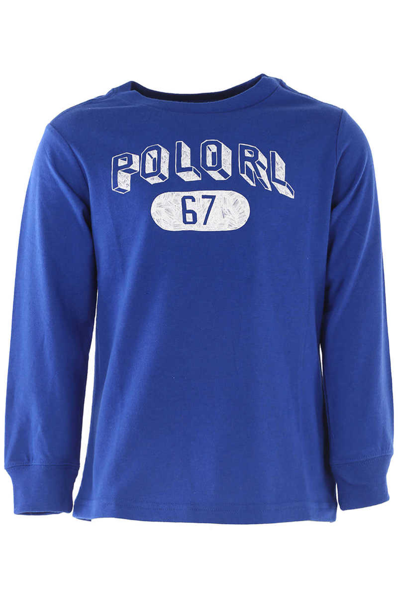Ralph Lauren Baby T-Shirt for Boys On Sale in Outlet Bluette - GOOFASH - Mens T-SHIRTS