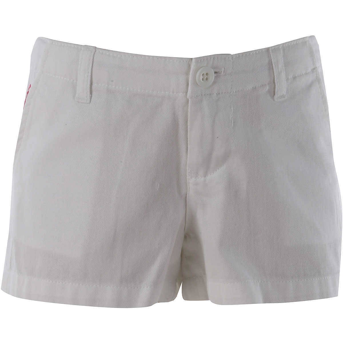 Ralph Lauren Kids Shorts for Girls On Sale in Outlet White - GOOFASH - Womens SHORTS