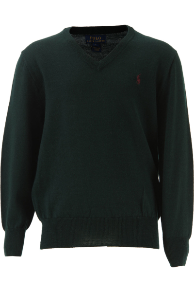 Ralph Lauren Kids Sweaters for Boys On Sale in Outlet Green - GOOFASH - Mens SWEATERS
