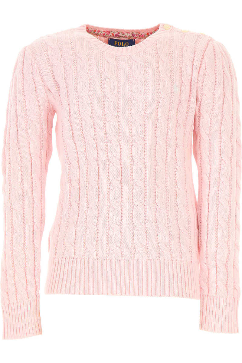 Ralph Lauren Kids Sweaters for Girls On Sale in Outlet pin - GOOFASH - Womens SWEATERS