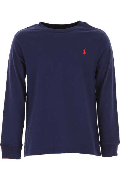 Ralph Lauren Kids T-Shirt for Boys On Sale in Outlet navy UK - GOOFASH - Mens T-SHIRTS