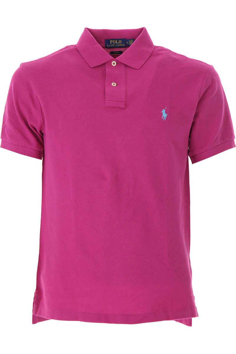 Ralph Lauren Polo Shirt for Men On Sale Purple UK - GOOFASH - Mens POLOSHIRTS