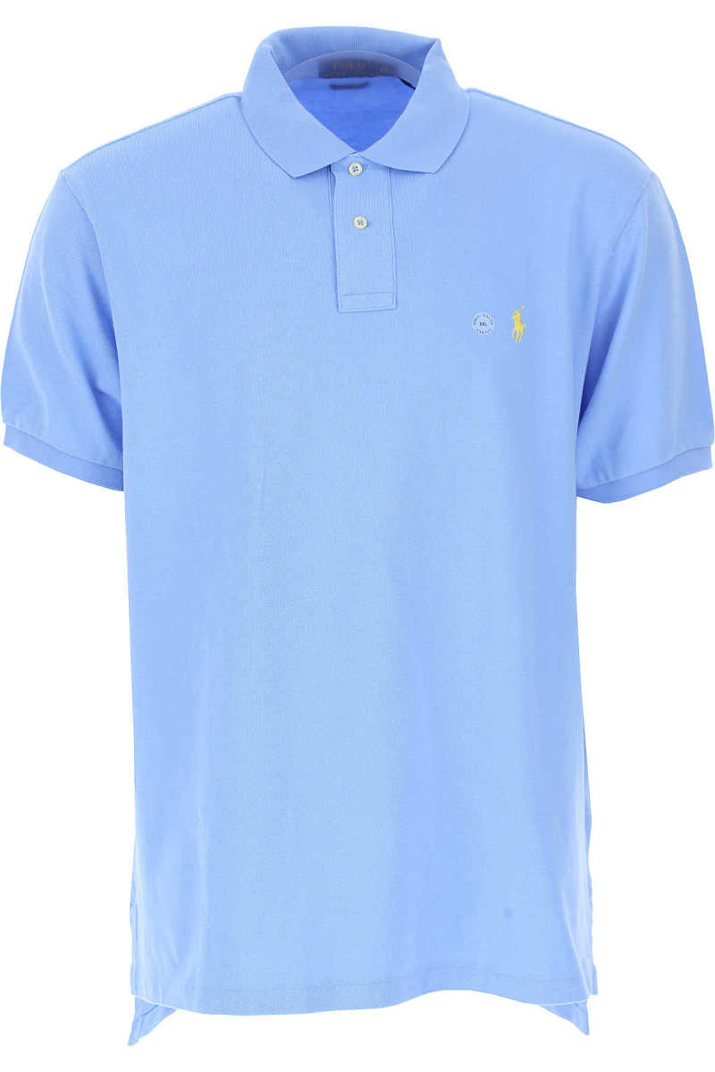 Ralph Lauren Polo Shirt for Men On Sale in Outlet Chatham Blue - GOOFASH