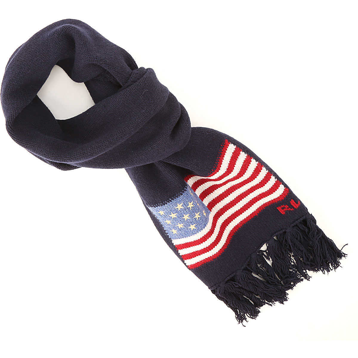 Ralph Lauren Scarf for Men Blu Navy - GOOFASH