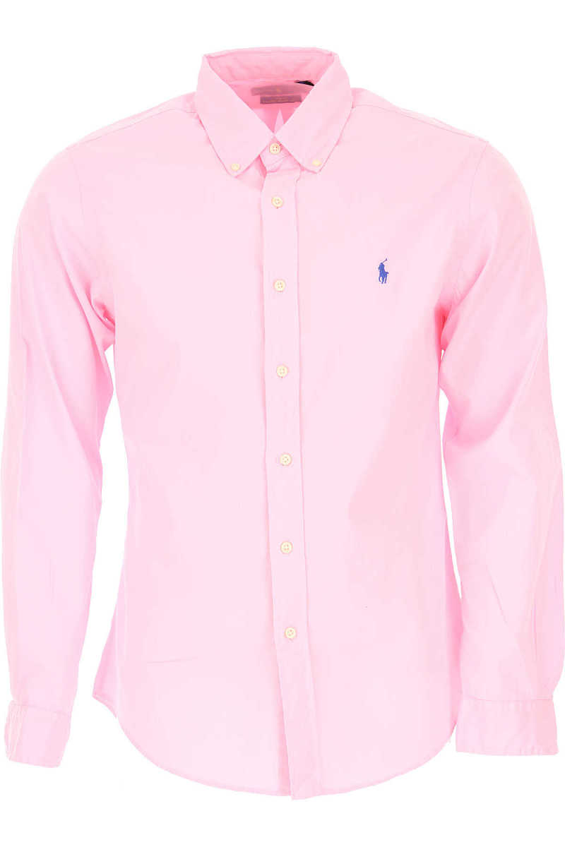Ralph Lauren Shirt for Men On Sale Pink - GOOFASH