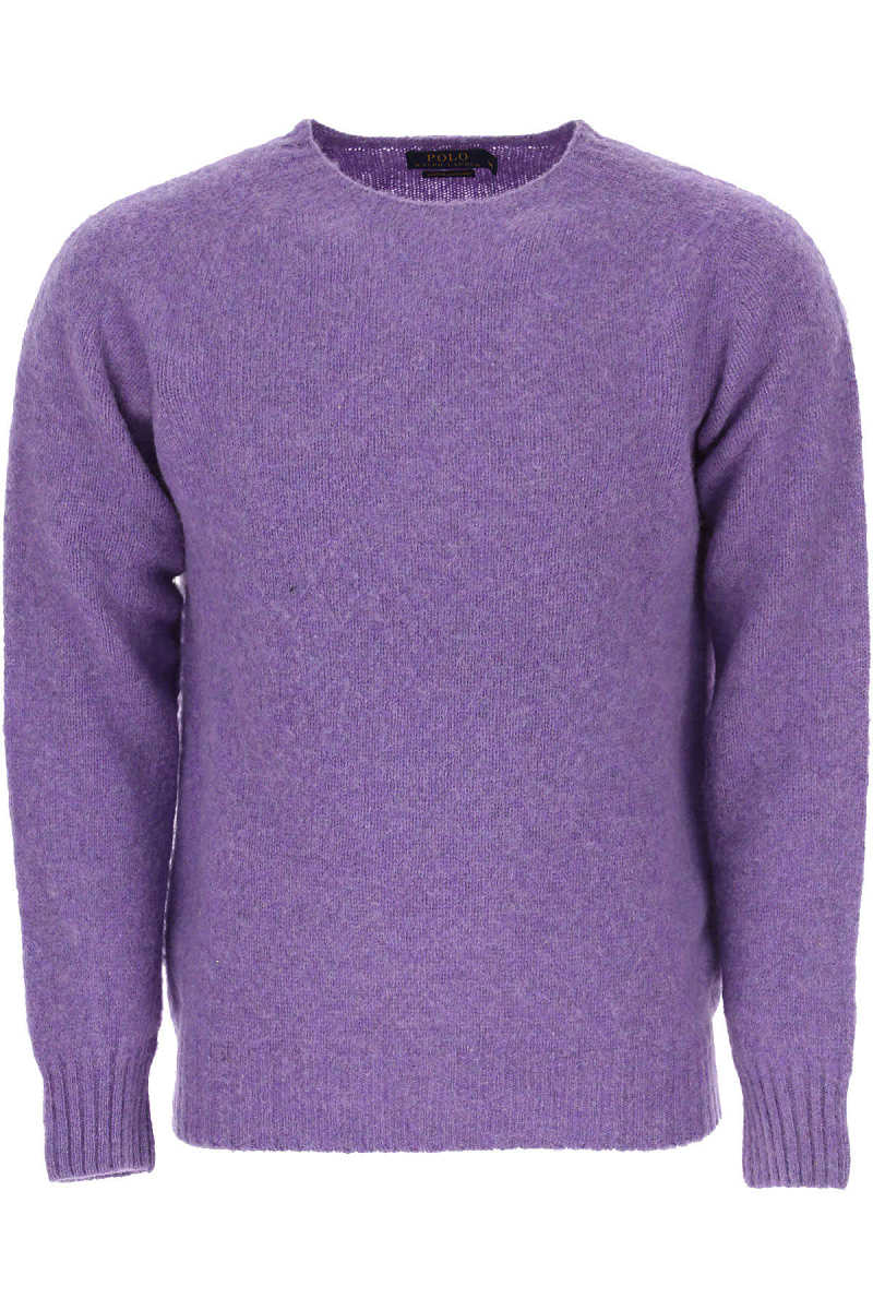 Ralph Lauren Sweater for Men Jumper On Sale in Outlet Lilac UK - GOOFASH - Mens SWEATERS