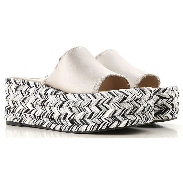 Ras Wedges for Women On Sale Silver UK - GOOFASH