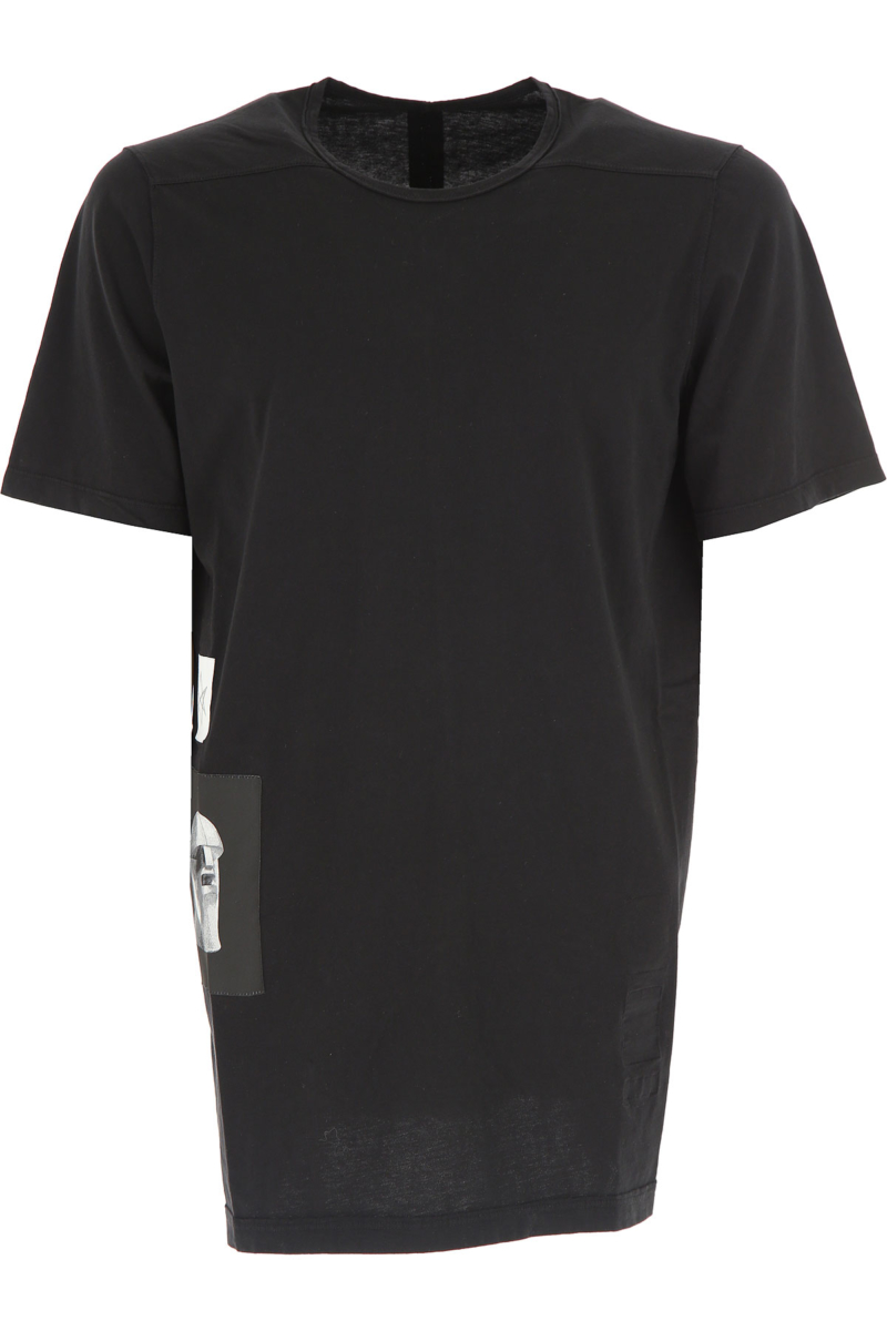 Rick Owens DRKSHDW T-Shirt for Men On Sale in Outlet Black - GOOFASH