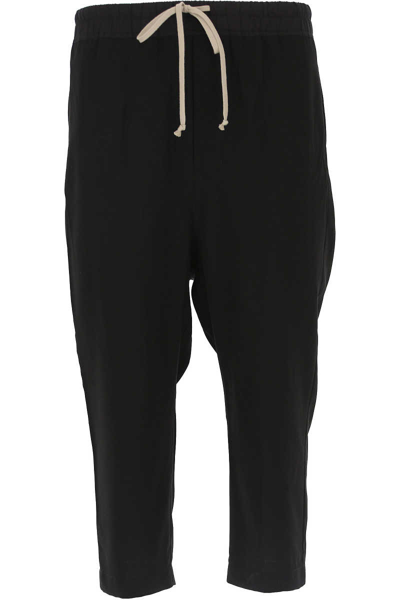 Rick Owens Pants for Men On Sale in Outlet Black UK - GOOFASH - Mens TROUSERS