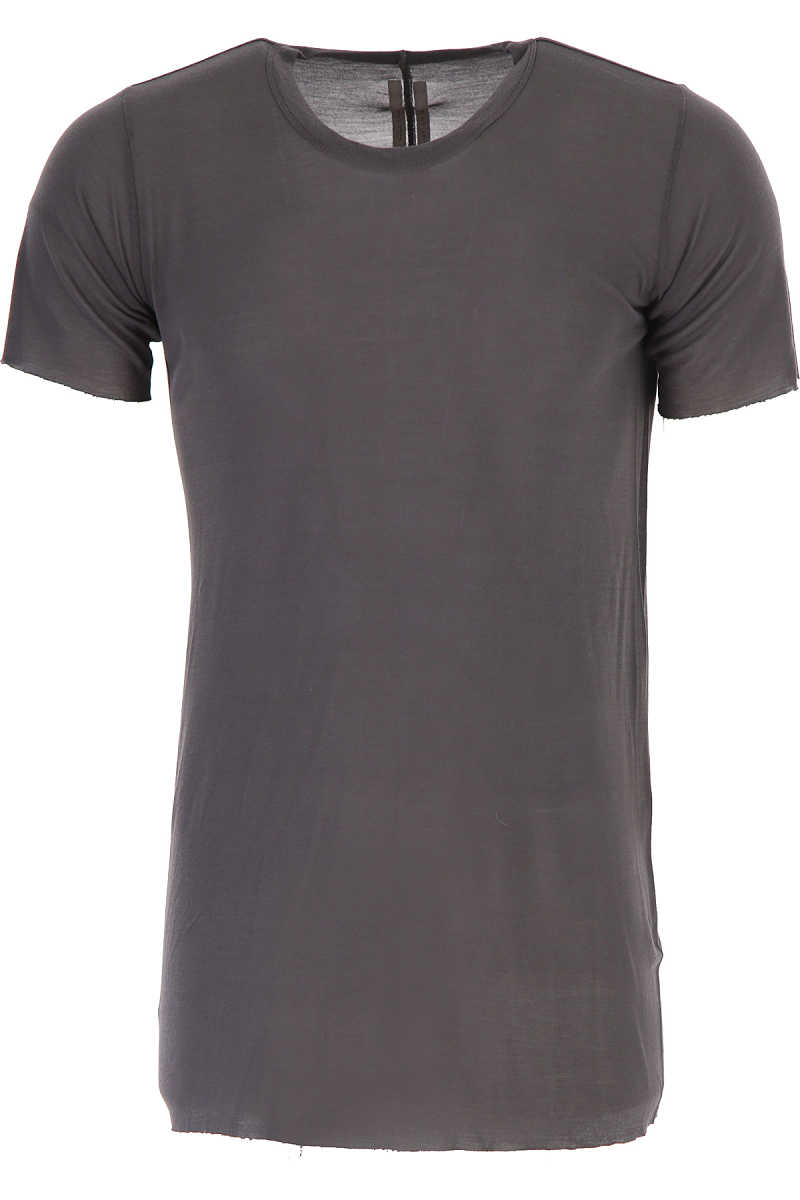 Rick Owens T-Shirt for Men On Sale in Outlet Grey UK - GOOFASH - Mens T-SHIRTS